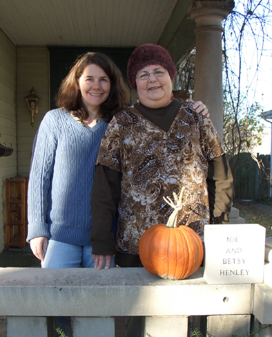Photo of Jane Henley and her mother
