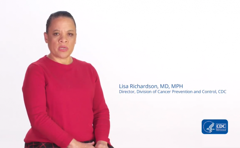Photo or Dr. Lisa Richardson, Director, CDC Division of Cancer Prevention and Control