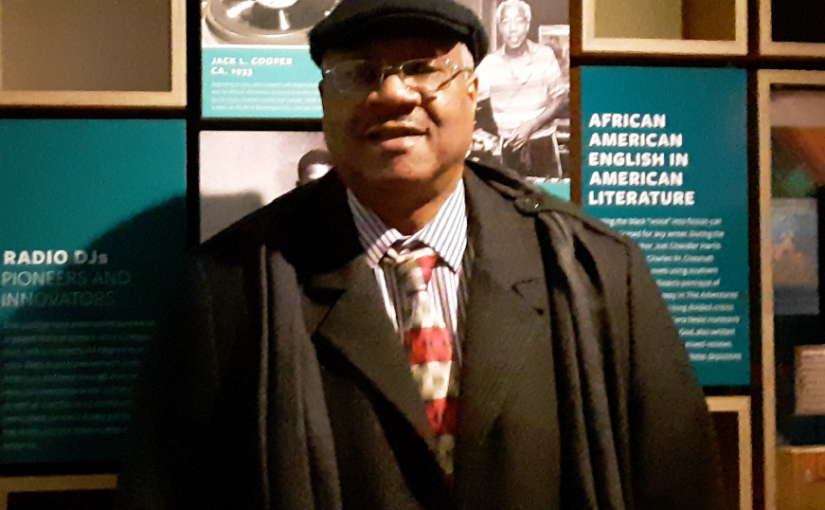 Lorenzo in the National Museum of African American History and Culture
