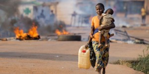 CAR refugees forced from their homes by rebels