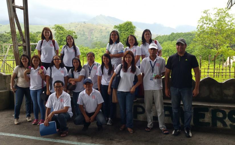 Global Adult Tobacco Survey pretest surveillance team, barangay Looc.