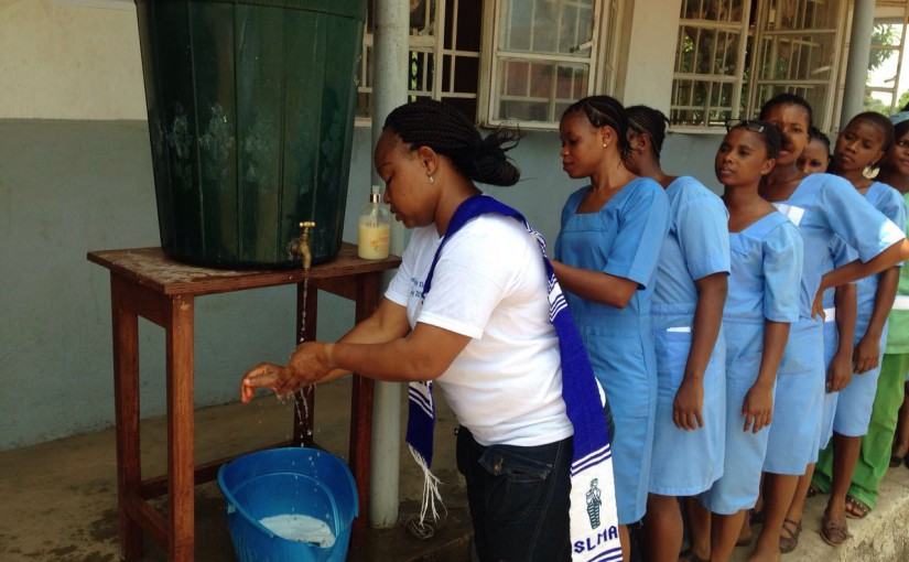 Float parade celebrating World Hand Hygiene Day at Pujehun, Sierra Leone
