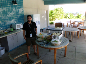 CDC Jose Laguana, Thanksgiving feast organizer