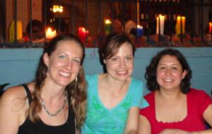 Araceli Rey and CDC Public Health Analyst Amy Bailey and CDC Health Communication Specialist Molly McCollom