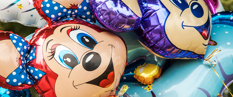 mouse helium balloons