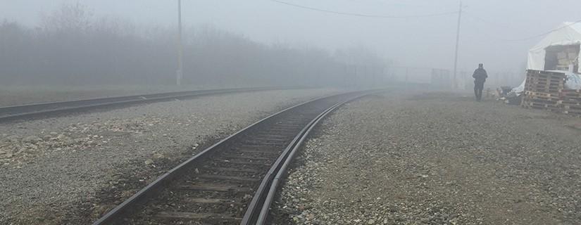 Train tracks into WRTC
