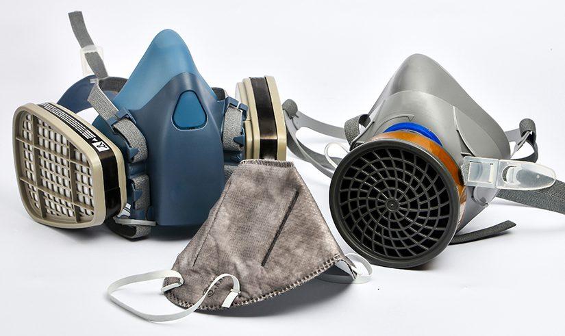 Three kinds of filtering facepiece respirators