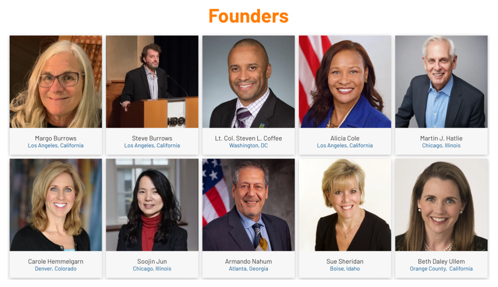 Founding members of Patients for Patient Safety U.S. patient safety network