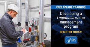 Legionella Water Management Program Online Online training