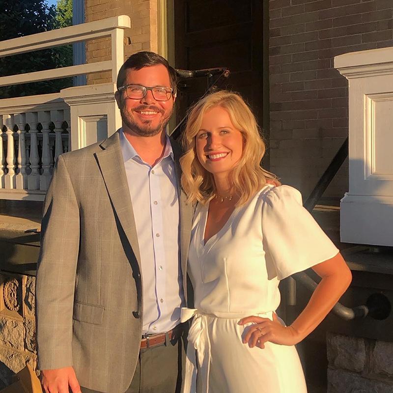 Kelsey and Kenny Brady (photo courtesy of Kelsey Benson)