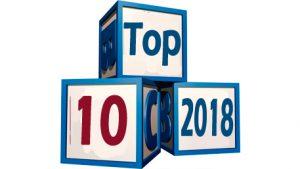 Top 10 2018 on building blocks