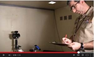 Chuck Kardous recording measurements