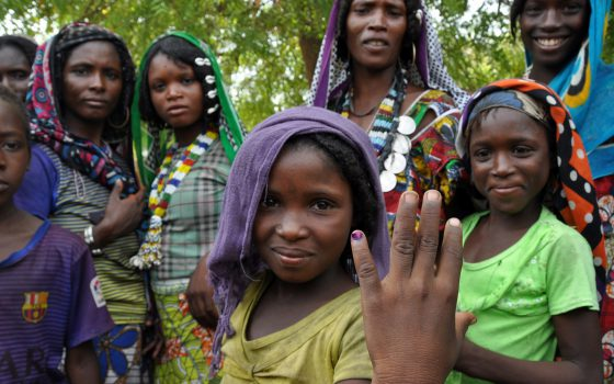 Chad Polio Vaccination Innovation Outbreak