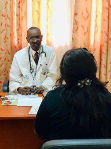 Dr. Oumar Ba, an Oncologist at the Hôpital Pricipal de Dakar, Senegal