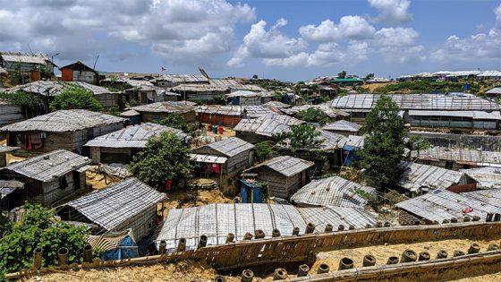 Rohingya Refugee Camp. Photo by: Rachael Zacks