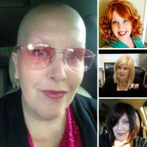 Ronda Walker during cancer treatment.