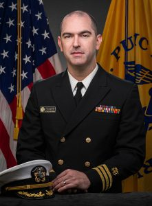 Commander Tyler M. Sharp, Ph.D.