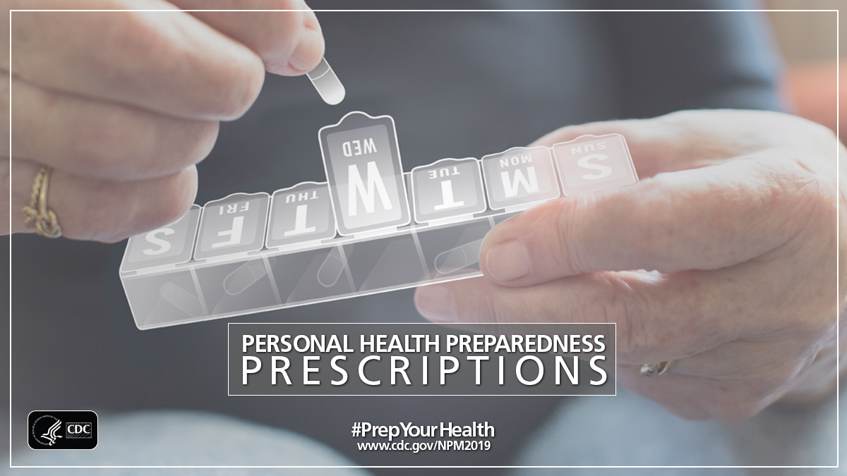 Woman putting medication in a pill organizer.