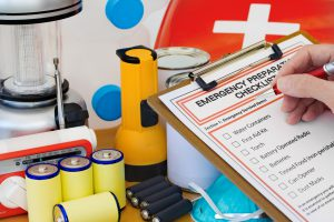 Emergency supplies and checklist