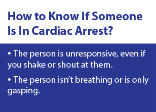 How to know if someone is in cardiac arrest