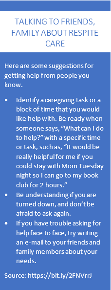 Talking about respite care
