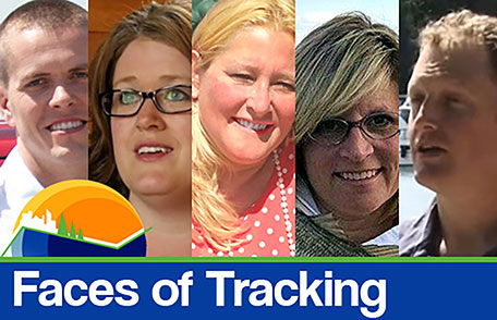faces of tracking